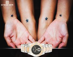 Because you deserve more stars.....  Add another star to your collection with this D'SIGNER masterpiece ‪#‎DSIGNERWatches #DSIGNERTattoo‬ #since1991 #ILoveMyTime #nature  #time #tattoos #tattoed #tattoo #tattooart #art #bodyart #inked #birds #story #caption #win #engraved #watch #watches #contest #luxury