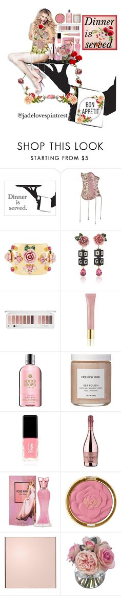 """Bon appetit baby"" by jadelovespintrest ❤ liked on Polyvore featuring Puma, Dolce&Gabbana, AERIN, Molton Brown, French Girl, JINsoon, SENSI, Paris Hilton, AYTM and Diane James"