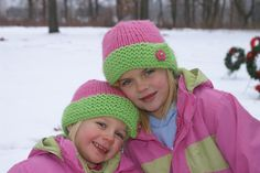Free Pattern: Cute Knitted Hats
