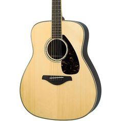 5. Yamaha FG730S Acoustic Guitar, Natural