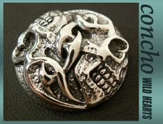 concho/Skull/solid925 silver/WILD HEARTS leather&silver  http://item.rakuten.co.jp/auc-wildhearts/0189t31/