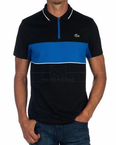 d3a30a947fb5 Polo Lacoste Sport - Negro   Royal
