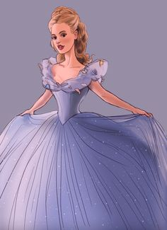 CINDERELLA 2015 This is a quick sketch/color of Lily James as Disney's new Cinderella coming out in I decided to draw over my first version so that I could get a closer resemblance to the. Cinderella 2015, Cinderella Live Action, Cinderella Movie, Walt Disney, Disney Magic, Disney Live, Disney Fan Art, Disney And Dreamworks, Disney Pixar