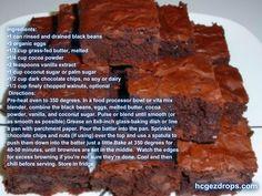 HCG Diet Recipes gluten free brownies