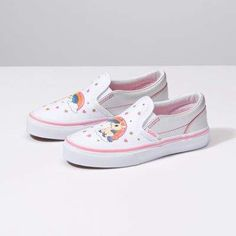 9fdca1a00bb Kids Unicorn Rainbow Classic Slip-On Vans Kids