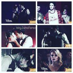 •El baile de Luna y Matteo•El beso de Lutteo