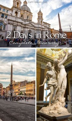 Rome Itinerary: 2 days in Rome, Italy Rome Travel, Travel And Tourism, Italy Travel, Travel Europe, Travel Destinations, Egypt Travel, Travel Agency, 2 Days In Rome, 10 Days In Italy
