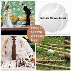 More baseball wedding ideas