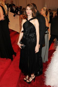 Sofia Coppola attends the 'Alexander McQueen: Savage Beauty' Costume Institute Gala at The Metropolitan Museum of Art on May 2, 2011.