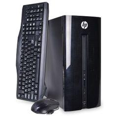 HP 251-A123W Pentium J2900 Quad-Core 2.41GHz 4GB 1TB DVD±RW W10H Mini-Tower PC w/WiFi-N & DVI - B