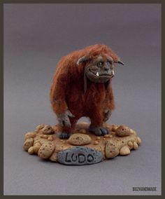 LUDO The Labyrinth FanArt Clay Sculpture by Buzhandmade on Etsy, €150.00