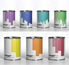 Creative Examples of Paint Packaging Designs