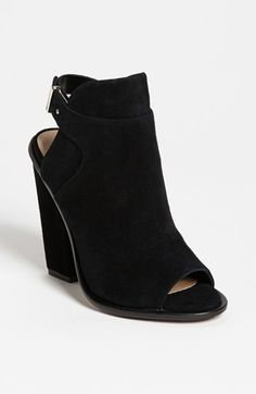 Black suede, cutout bootie with overlay detail. Dolce Vita 'Niven' Bootie | Nordstrom