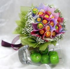 Lollipop Bouquet, can we make these!