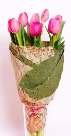 Tulips with Lotus Wrap: http://theblutulip.com.au/products/Tulips-with-Lotus.html