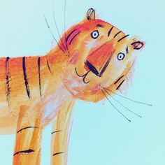 Hi tiger #illustration #tiger