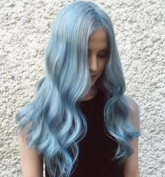 Blue Wigs Lace Hair Lace Frontal Wigs Belle Wig Remy Lace Front Wigs Human Hair Blonde Wig With Bangs Human Hair Icy Blue Hair, Silver Blue Hair, Dark Purple Hair Color, Bright Blue Hair, Dyed Hair Blue, Aqua Hair, Blue Wig, Pastel Hair, Blue Ombre