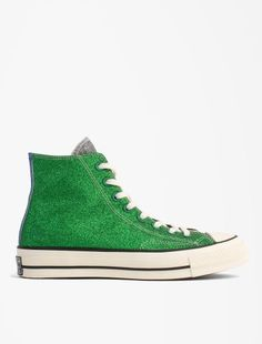100% authentic b0690 b6566 Converse JWA CHUCK 70 HI Green Black Egret High Top Sneakers, Converse,