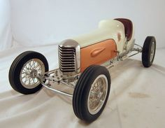 TETHER CAR GENE SHERMAN MILLER - Display Model in Collectibles, Transportation, Automobilia | eBay