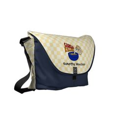 Cereal Killer Funny Personalized Tote/Diaper Messenger Bag