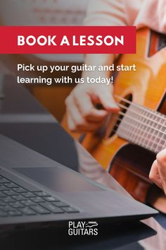 Whether you're a beginner picking up a guitar for the first time, or looking to advance what you already know—you'll see clear progress from lesson to lesson. Enroll in guitar lessons that quickly build skills and confidence from the beginning. Book A 30 Minute Lesson Today! #onlineguitarlessons #bestonlineguitarlessons #learnguitaronline #learnguitarbeginner Best Online Guitar Lessons, Learn Guitar Online, Learn Guitar Beginner, Guitar Chords Beginner, Guitar Lessons For Beginners, Learn To Play Guitar, Lessons For Kids, Vocal Lessons, Music Lessons