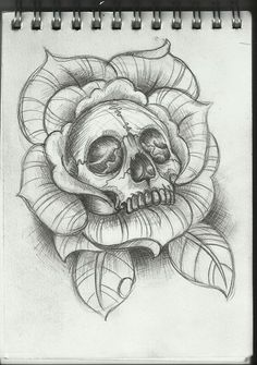 skull tattoo design by frosttattoo traditional art body art body ...