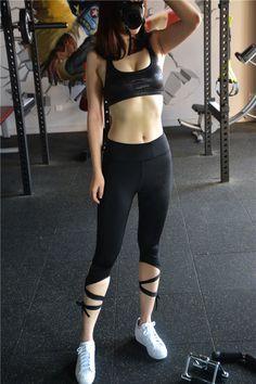 17b5b3a542cb5 US  19.59 - Women s Yoga Pants Active Running Workout Fitness Capri… White Yoga  Leggings