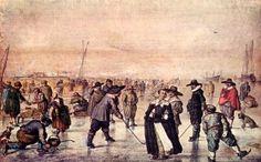 Scene on the ice by Hendrik Avercamp (1585-1634), Amsterdam, Netherlands
