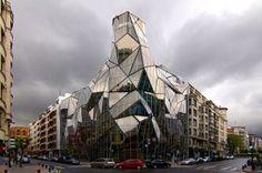 Edificios Inspirados en el Origami, Arquitectura y Excentricidad92