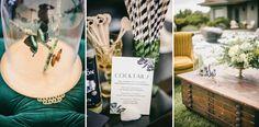 Enjoy Events Co. // Celebration, Planning & Design in the Bay Area // Emily Read Bentley &: Wedding Glimpse // Lindsay + Josh // Great Gatsb...