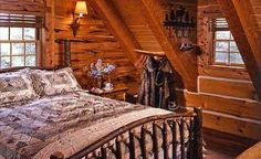 Log cabin bedroom incredible log cabin bedroom home cabin bedroom cozy log cabin bedroom rustic cottage . Log Cabin Bedrooms, Log Cabin Homes, Log Cabins, Western Bedrooms, Rustic Cabins, Small Log Cabin Plans, Bedroom Minimalist, Log Home Living, Cozy Living
