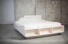 Design Bett. ProdukteSchwebenAblageNachhaltigElementeStauraumBettenRegal Gestalten