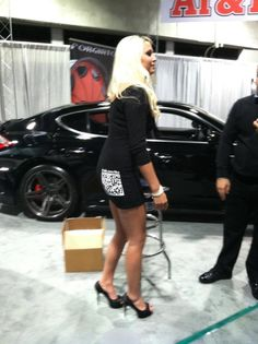 Forgiato car show. Scan and enter.