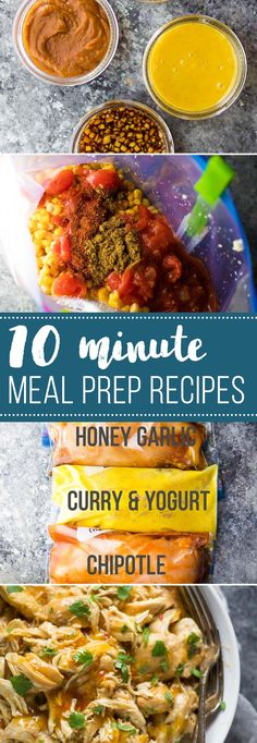 Ten minute meal prep recipes- a little meal prep effort can go a long way in reducing your meal-related stress and keeping you on track with your healthy eating goals. These recipes and ideas are perfect for weeks when you are short on prep time. When I started meal prepping, I thought I had to...Read More