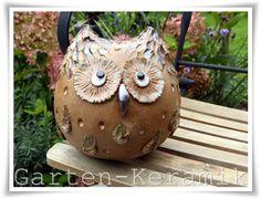 """Garten-Keramik: """"Schau mir in die Augen ..."""""""