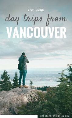 7 stunning day trips from Vancouver - Canada - Non Stop Destination Vancouver Travel, Vancouver City, Vancouver Island, Vancouver Vacation, Vancouver Skyline, Banff, Quebec, British Columbia, Cool Places To Visit