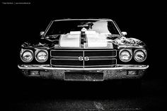 chevelle ss front black