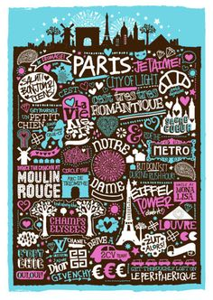 paris, illustrated
