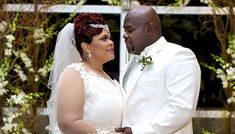 Tamela and David Mann renewed their vows in front of loved ones in Dallas, Texas, on April 20, 2013. The gospel singers and actors, both 46, were legally wed in 1988 but never had a proper ceremony. Their high school friend Kirk Franklin and his wife Tammy were in attendance. Tamela and David's grandchildren participated in the ceremony.