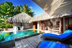 Le Meridien Bora Bora Hotels: Le Méridien Bora Bora - Hotel Rooms at lemeridien... Private pool <3 #MyEscapeCompetition