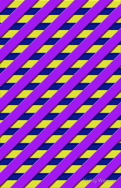 'Purple Stripes on Blue Stripes' iPhone Case by Kathy Weaver Stripe Wallpaper, Semi Transparent, Iphone Case Covers, Blue Stripes, Colorful Backgrounds, Purple, Unique, Prints, Design