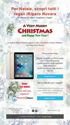 Per Natale, scopri tutti i regaliiRiparo Novara  Il talento di saper scegliere i regali