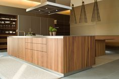 Fitted Kitchen With Island Wooden Kitchen Collection By Bulthaup