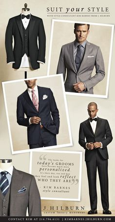 As featured on The Brides of North Texas magazine, I shared some advices with grooms searching for their ‪#‎wedding‬ attire. What is your groom/groomsmen fashion tip? #wedding #tips