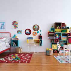 Cubby Wall Shelf Collection | The Land of Nod
