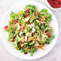 You'll love these simple and healthy coleslaw makeovers (like this Superfood Kale Slaw). #recipes #healthyrecipes #summerrecipes | everydayhealth.com