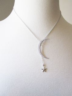 Carrie's Crescent Moon Necklace in Sex in the City 2 by JewelryOD, $99.00