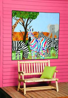 2011 #Quilt Contest -- second place contestant :) #zebras