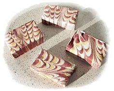 Como hacer jabon marmolado - How to make marbled soap at home