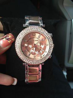 Michael Kors Rose Gold Tone Womans Watch!!!